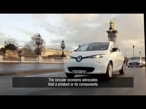 Renault - The circular economy electric vehicles batteries