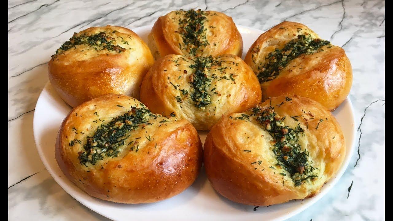 чесночные булочки легкий рецепт