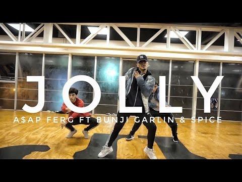 ASAP FERG - JOLLY   Coreografia Seba Carreño   Power Peralta Dance Studio