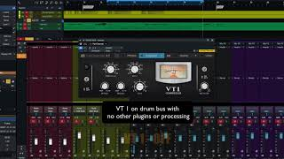 PreSonus Fat Channel Plug-in Demo: VT1