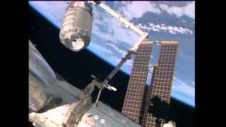 Cygnus Berthed to ISS