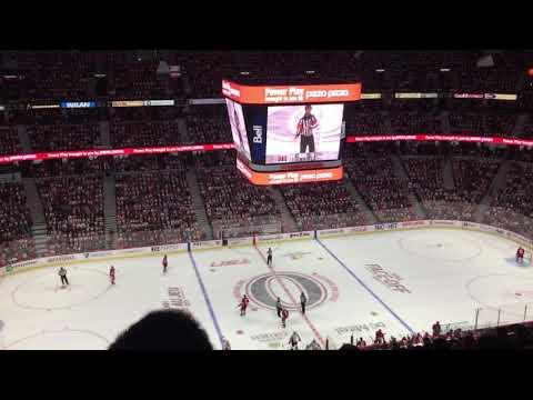 Ottawa Senators Powerplay vs Capitals (Oct, 5th, 2017)