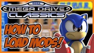 Community Mods on the Sega Mega Drive Classics Hub