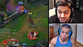 YASSUO'S LEVEL 1 INVADE IN KOREA WENT WRONG | WHEN TYLER1 PLAYS KARTHUS | TF BLADE | LOL MOMENTS
