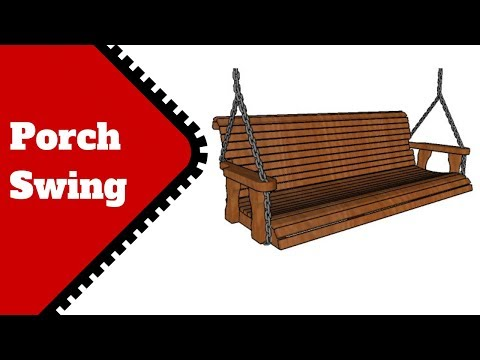 Free Porch Swing Plans