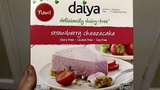 Daiya Strawberry Cheezecake Taste Test (vegan cheesecake review)