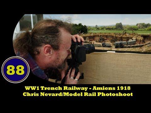 WW1 Trench Railway - Chris Nevard / Model Rail Magazine Photoshoot