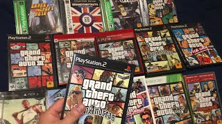 Grand Theft Auto Series - Release Dates