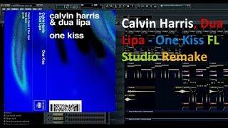 Calvin Harris, Dua Lipa - One Kiss FL Studio Remake