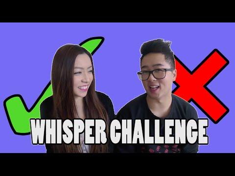 CHONNY & DALENA - Whisper Challenge