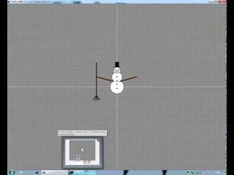 let s programm eos 1 schneemann 2 die dekoration youtube. Black Bedroom Furniture Sets. Home Design Ideas