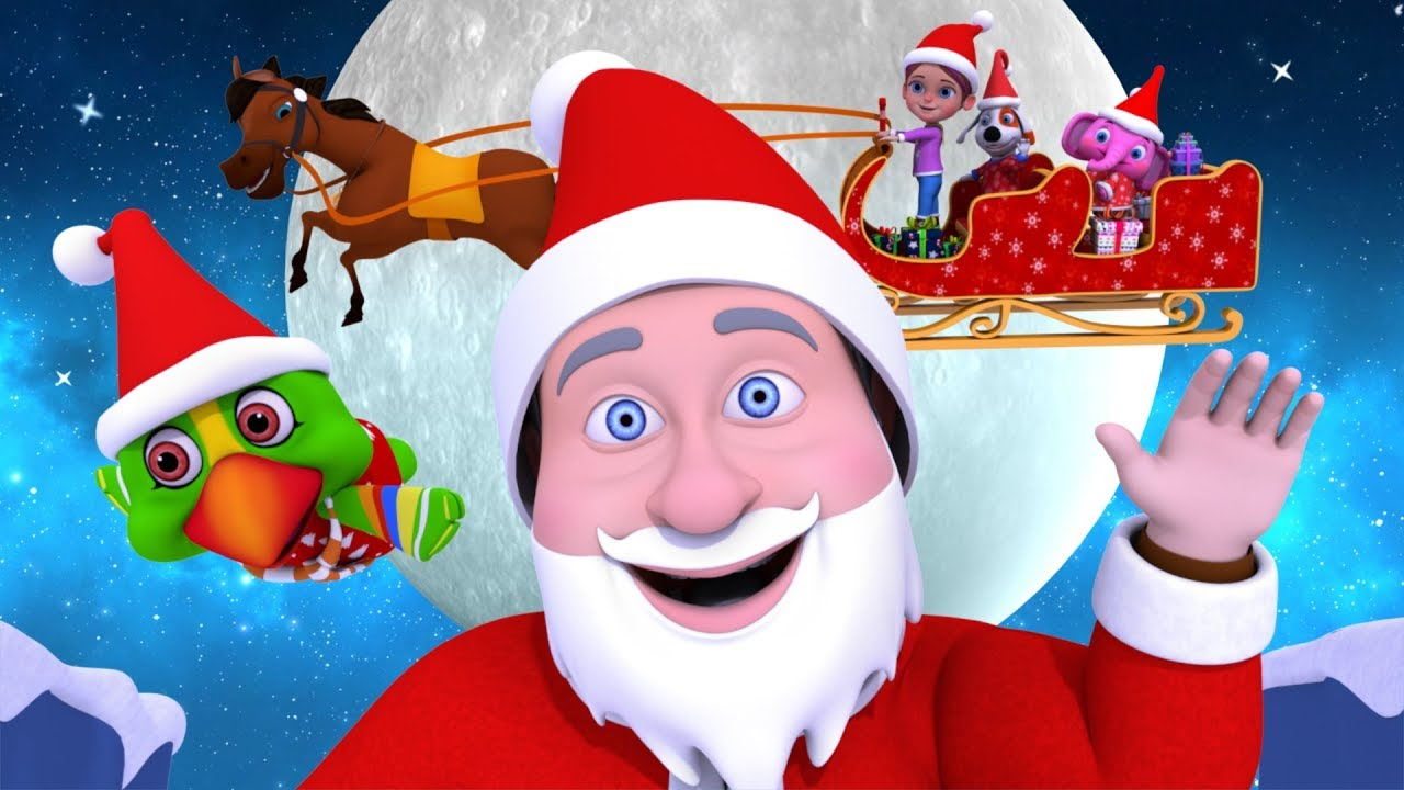 Jingle Bells Christmas Song Cartoons For Toddlers Xmas Videos For Kids By Little Treehouse Youtube