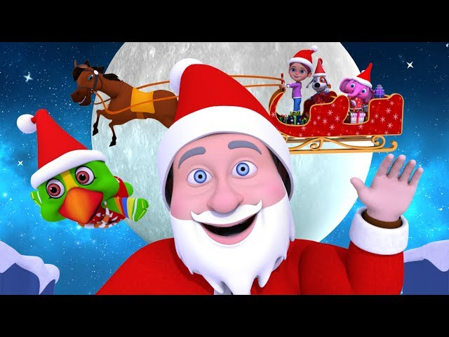 Jingle Bells | Christmas Songs | Cartoons For Toddlers | Xmas Videos For Kids by Little ...