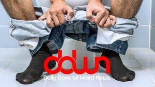 Man hasn't pooped in over 21 days! * And MORE in this DAILY DOSE OF WEIRD NEWS! #DDWN