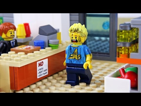 Lego Shopping Fail
