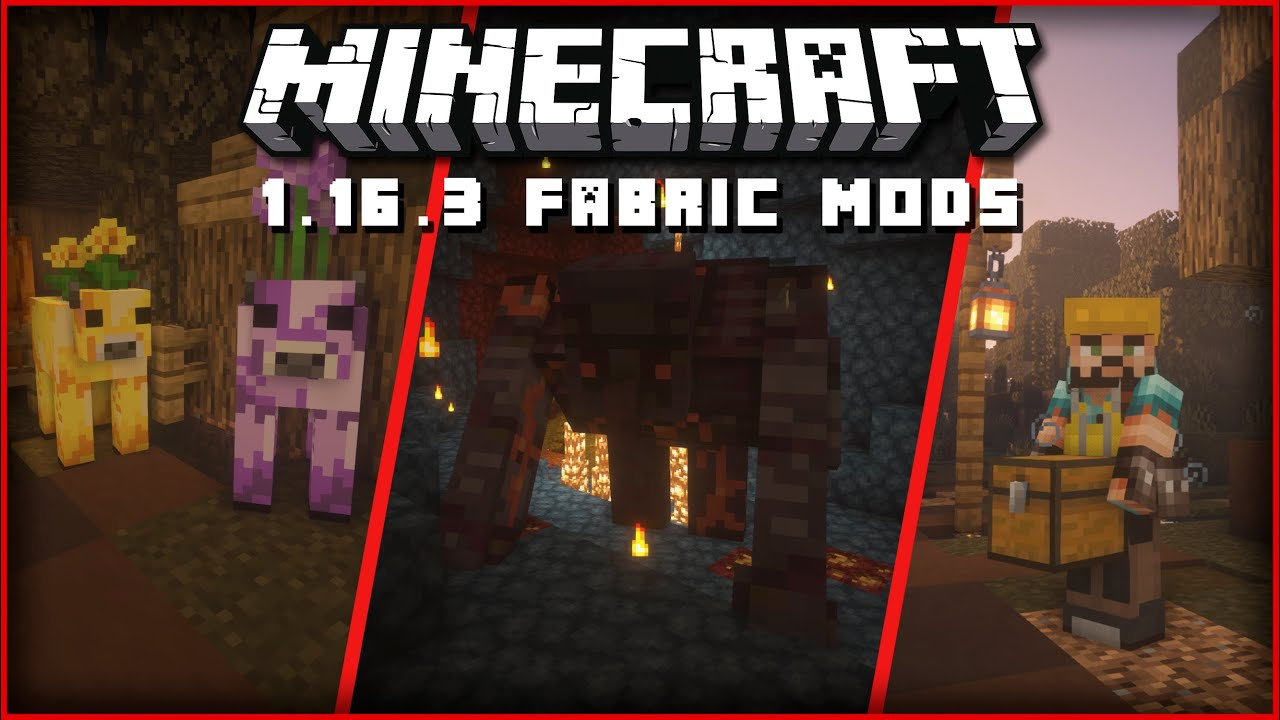 22 GREAT Mods for Minecraft 1 16 3 (FABRIC) YouTube