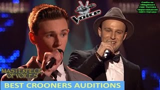 BEST CROONERS BLIND AUDITION IN THE VOICE