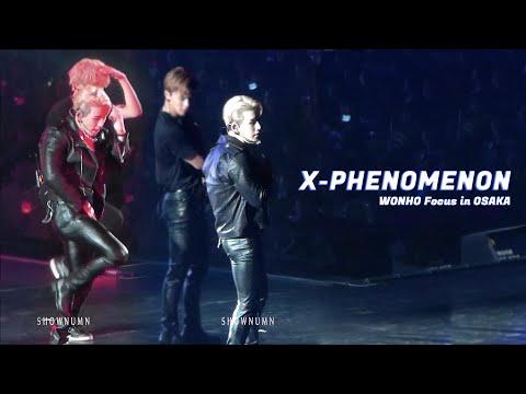 190903 몬스타엑스 월드투어 오사카  「X-Phenomenon」 FULL Ver. #원호 Focus