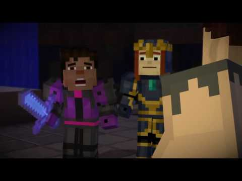 Review Minecraft Story Mode Episode 8 The State Of Games