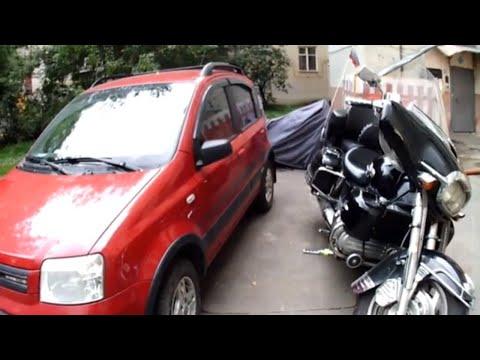 Фиат панда 4х4, обзор +ремонт тормозов