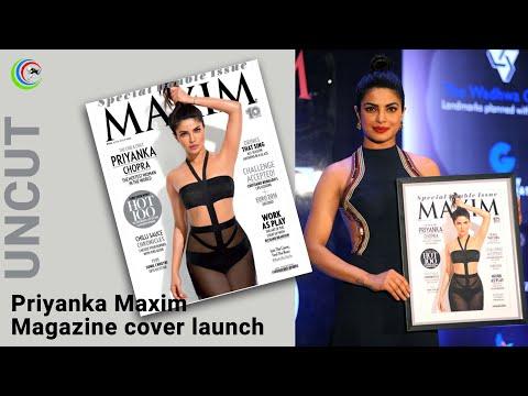 Priyanka Chopra at Maxim Magazine cover launch Uncut