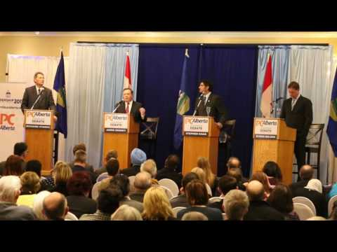 Alberta Conservative 2017 Leadership Debate Video 1