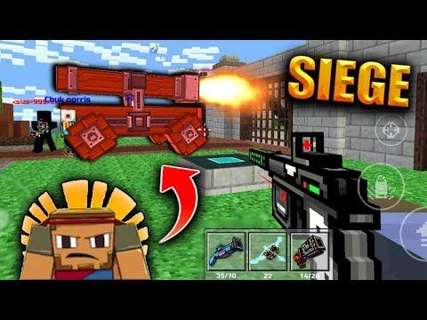 DID I WIN THE SIEGE CHALLENGE?! (Pixel Gun 3D Clan Siege Gameplay)