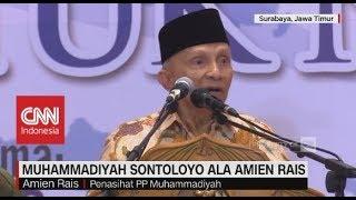 Muhammadiyah Sontoloyo Ala Amien Rais