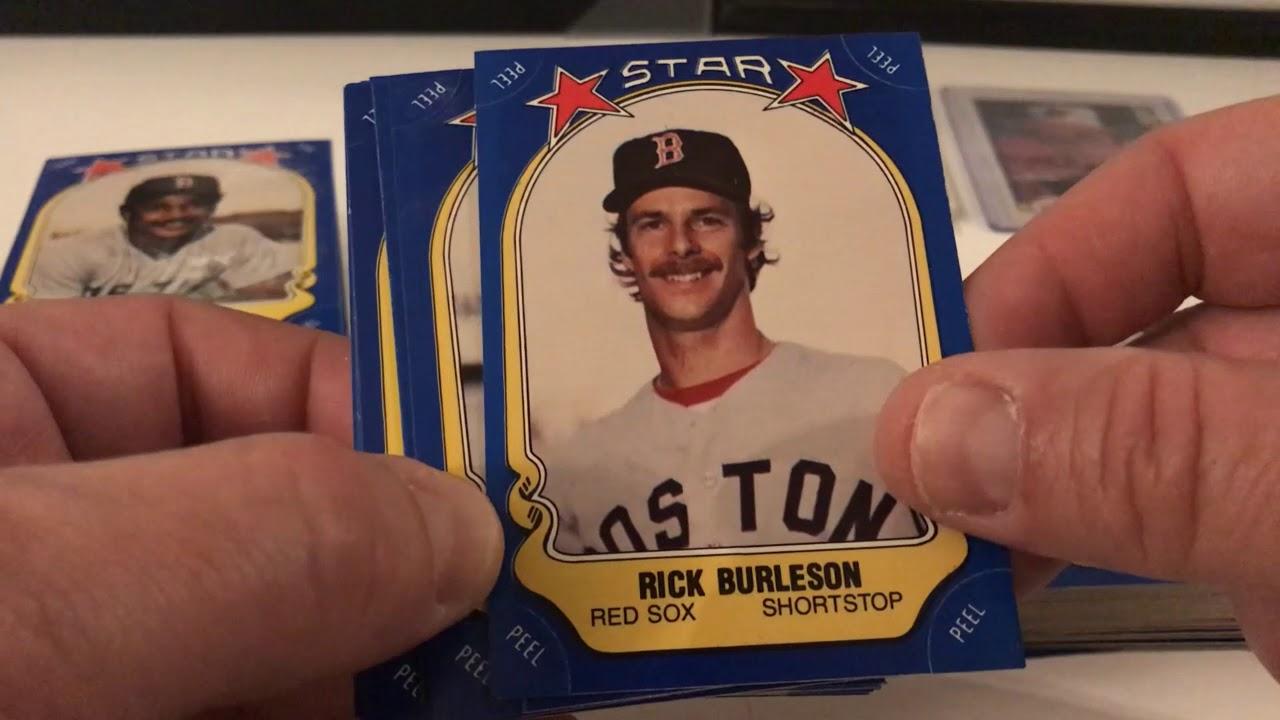 From The Archives 1981 Fleer Baseball Sticker Set Reveal Key 1982 Donruss Baseball Cards