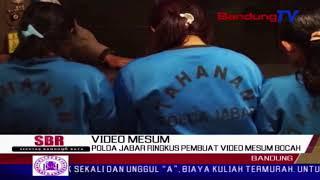 Polda Jabar Ringkus Pembuat Video Mesum Bocah | SBR | BANDUNG TV