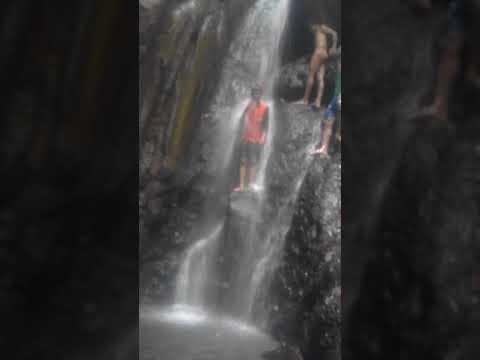 Air Terjun Oi Ura Di Desa Wora Kec.wera Bima NTB