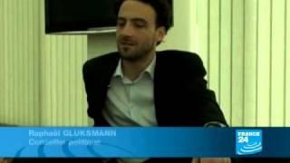 Raphaël Glucksmann, conseiller officieux du président géorgien