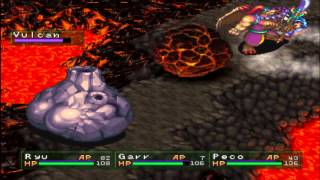 PSX - Breath of Fire III Part 12 - Fiery Mt. Zulbo