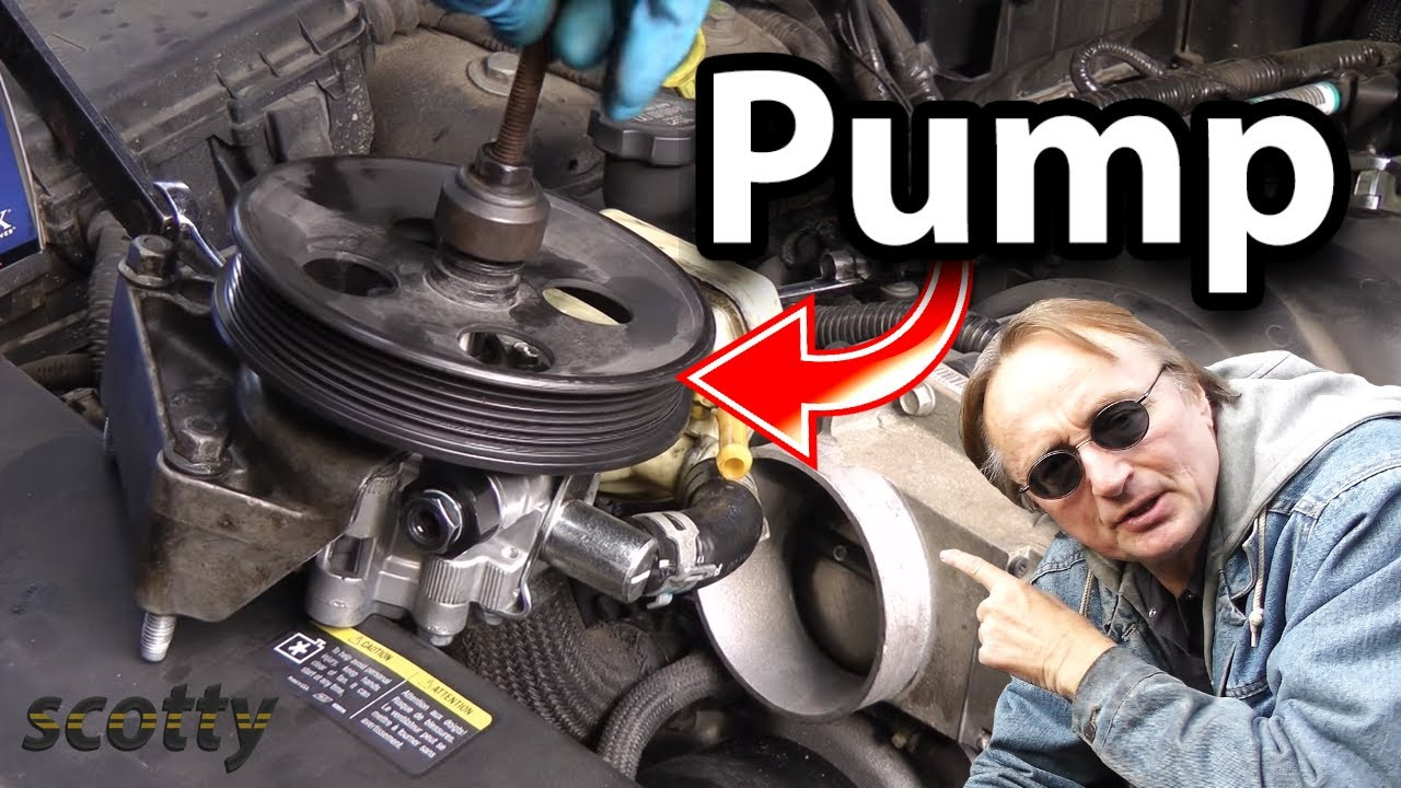 How to Replace Power Steering Pump in Your Car - YouTube