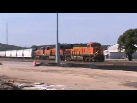 BNSF General Freight Tulsa, OK 8/20/17 vid 5 of 6