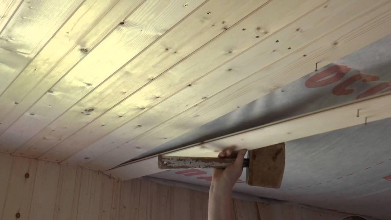 Утепление деревянного потолка своими руками 480