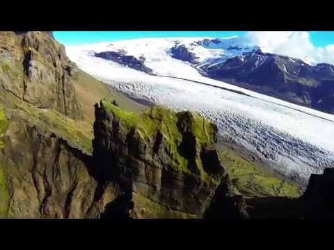 Glacier Lagoon Expedition helicopter tour in Iceland