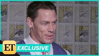 John Cena Can't Contain His Love for BTS (Exclusive)