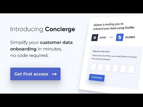 Flatfile Concierge Preview