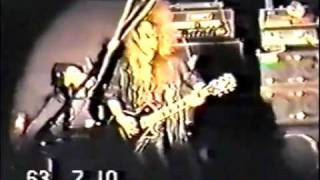 X (X JAPAN) - Give Me The Pleasure ~ Stab Me In The Back  (Sendai Morning Moon 1988)