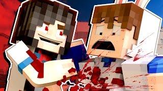 YANDERE MURDER MODE! - I'M GOING TO DIE! | 🐰 Minecraft Roleplay