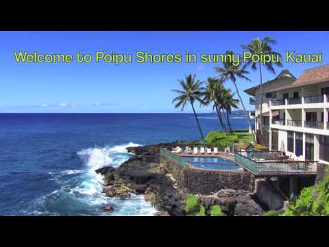 Stunning Kauai Direct Oceanfront Luxury Vacation Rental at Poipu Shores 106A ~ right on the water