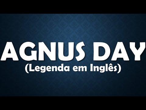 Agnus Day - Playback com Legenda em Inglês