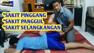 Fisioterapi - Pemeriksaan Fisioterapi Pada Gangguan Tulang Ekor (ILLIOSACRAL PAIN).