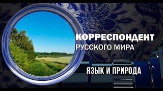 Корреспондент Русского мира. Язык и природа