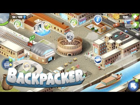 Backpacker Gameplay - World Tour Trivia Game