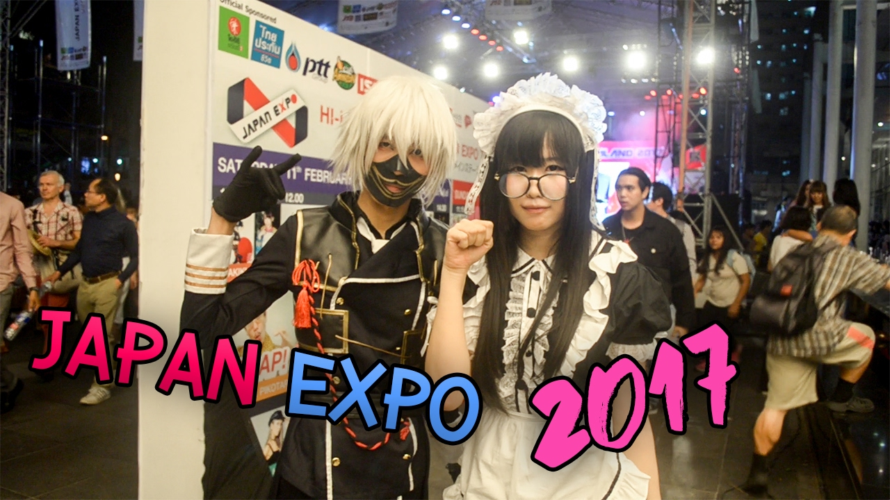 Idol cosplay japan expo thailand 2017 youtube - Date japan expo 2017 ...