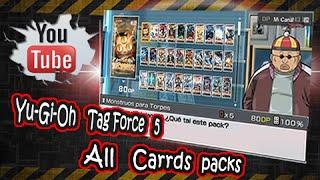 ✖๖ۣۜX Yu-gi-oh! 5D's Tag Force 5 All cards packs y descarga de savedata X๖ۣۜ✖