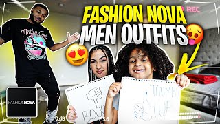 CJ AND QUEEN JUDGE MY FASHION-NOVA MEN OUTFITS..