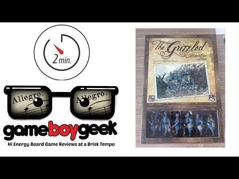 The Grizzled: Armistice (Allegro 2-min) Review with the Game Boy Geek